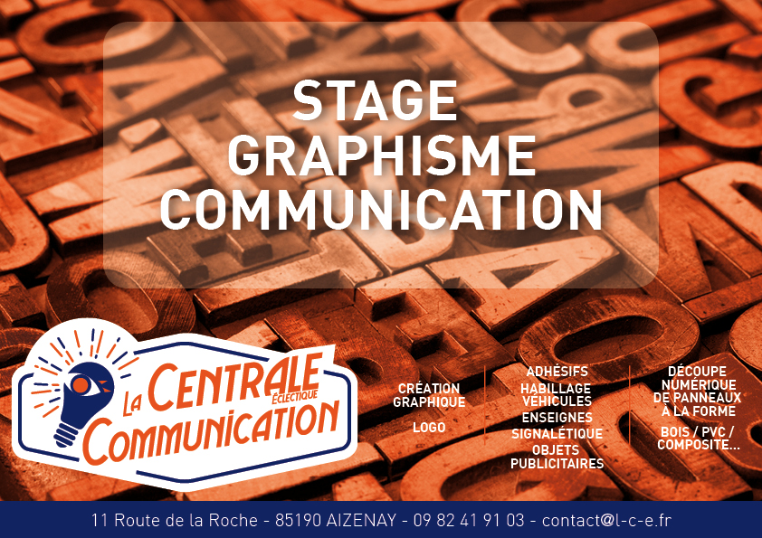 Stage graphisme/communication